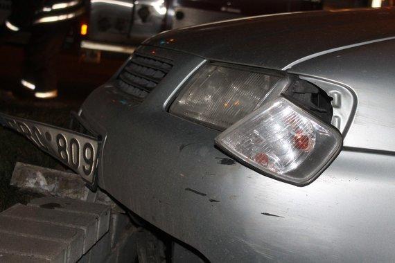 """Tomo Markelevičiaus nuotr./""""Audi"""" avarija"""