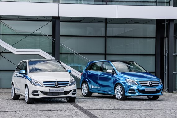 """Mercedes-Benz"" nuotr./""Mercedes-Benz"" B klasė"
