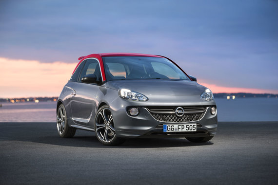 """""""Opel"""" nuotr./""""Opel Adam S"""""""