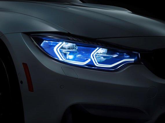 BMW nuotr./BMW lazeriniai žibintai