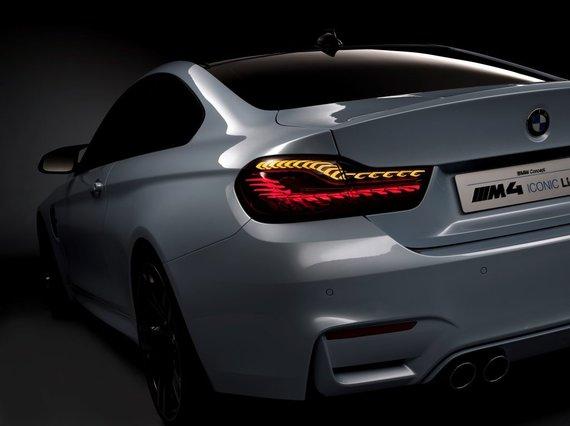 BMW nuotr./BMW OLED galiniai žibintai