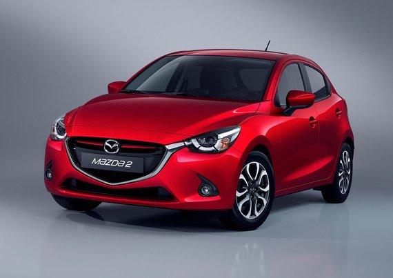 """""""Mazda"""" nuotr./""""Mazda 2"""""""