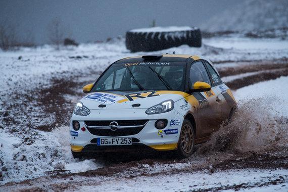 """Opel"" nuotr./""ADAC Opel Rallye Junior Team 2015"""