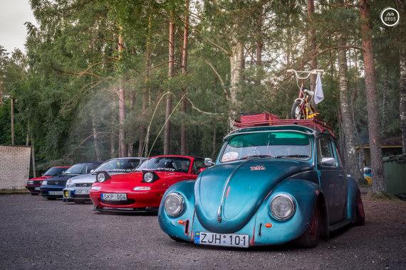 """Fotobros nuotr./""""Chill'n'Grill"""" automobilių suvažiavimas"""
