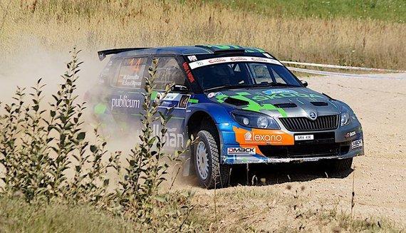 "Komandos nuotr./""WELLMAN Rally Team"""