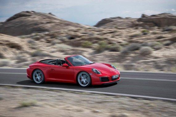 """""""Porsche"""" nuotr./Atnaujintas """"Porsche 911 Carrera"""""""