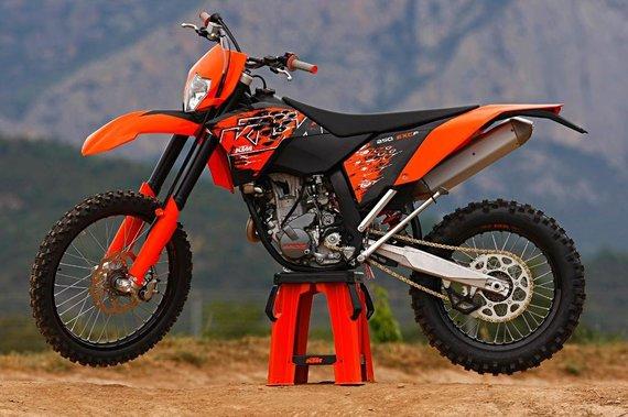 moto.zombdrive.com nuotr./KTM 250 EXC-F 2009
