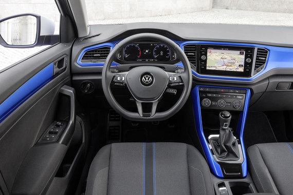 """Gamintojo nuotr./""""Volkswagen T-Roc"""""""