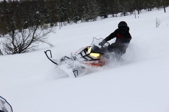 """Tomo Markelevičiaus / 15min nuotr./""""Polaris"""" bandymai Suomijoje"""