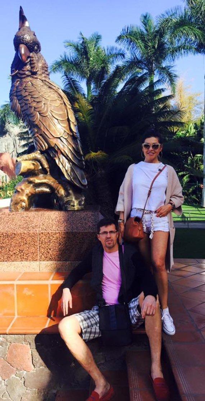 Asmeninio albumo nuotr./Kristinos Kaikarienės atostogų Tenerifėje akimirka
