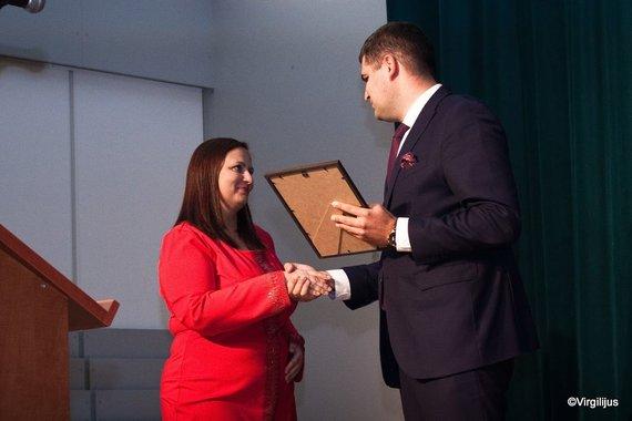 Daiva Bernatavičienė apdovanota Mero padėka už proejktinę veiklą