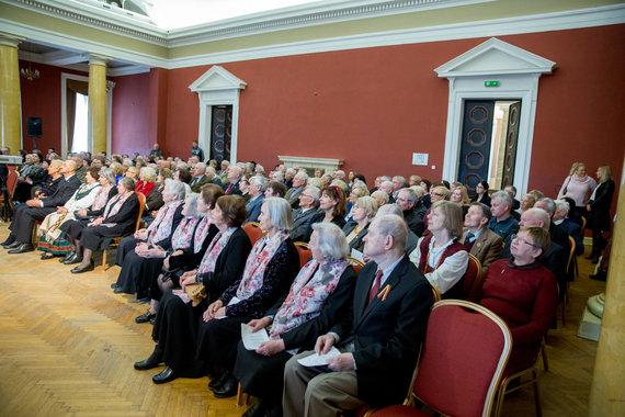 """Konferencijos akimirka """"Atminties apie tremtį svarba šiandieninei visuomenei ir ateities kartoms"""""""