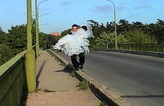 Bagočiūnų vestuvių vaizdo įrašo kadras