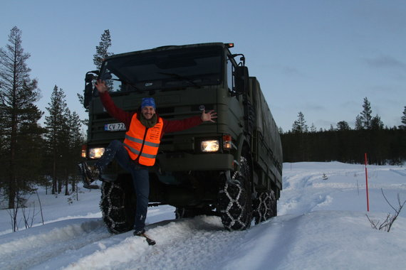 """Alvydo Januševičiaus / 15min nuotr./""""Scania winter 2020"""""""