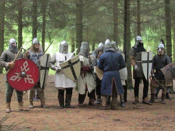 Asmeninio archyvo nuotr./Garuozos šilo mūšis Joniškyje
