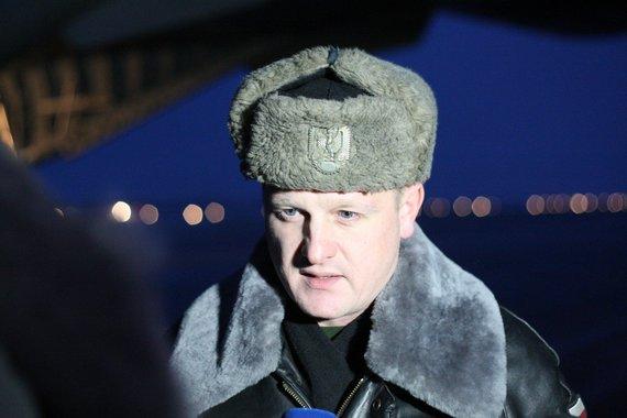 """Alvydo Januševičiaus nuotr./Piotras Ivaszko. NATO bazėje Šiauliuose nusileido keturi Lenkijos naikintuvai """"Mig-29"""" ir per 100 karių"""