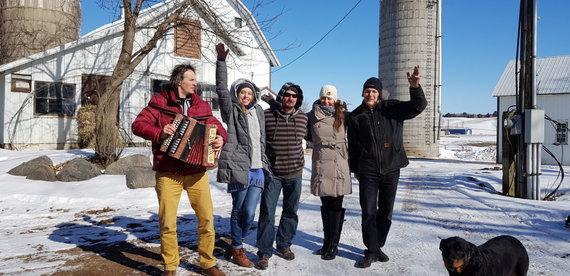 Alvydo Januševičiaus / 15min nuotr./Lietuviškas ūkis Minesotoje