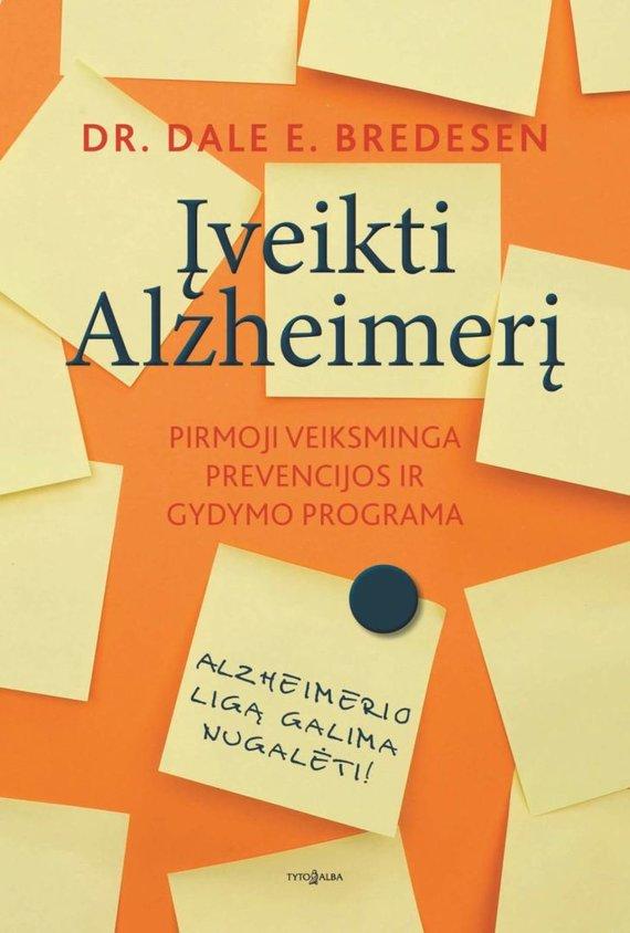 """Tyto alba"" viršelis/Knyga ""Įveikti Alzheimerį"""