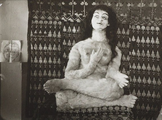 Vida Press nuotr./Oskaro Kokoschkos pagaminta Almos lėlė, 1919 m.