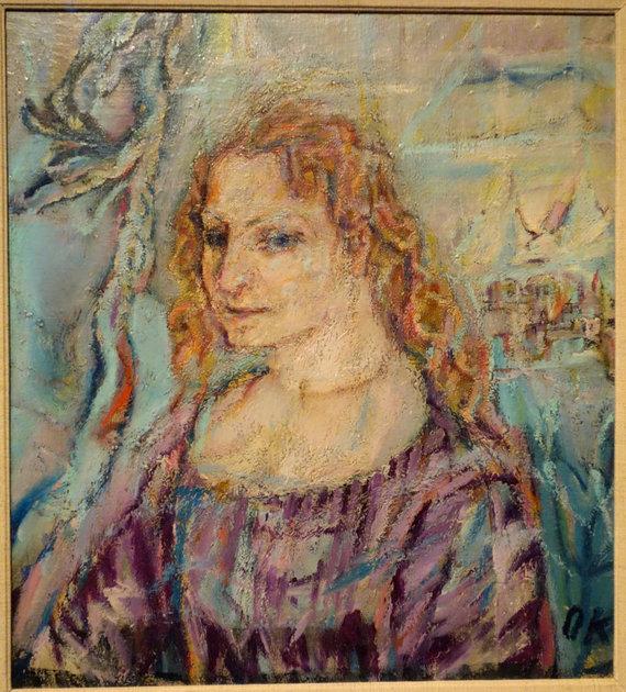 Vida Press nuotr./Oskaro Kokoschkos nutapyta Alma Mahler