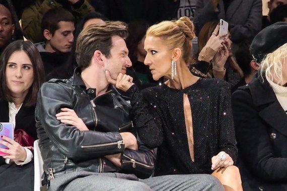 """Scanpix""/""SIPA"" nuotr./Pepe Munozas ir Celine Dion"