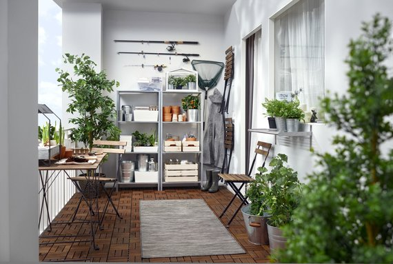 Ikea nuotr./Terasos įrengimo idėja