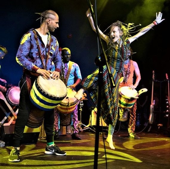 Organizatorių nuotr./Afrikos šokiai