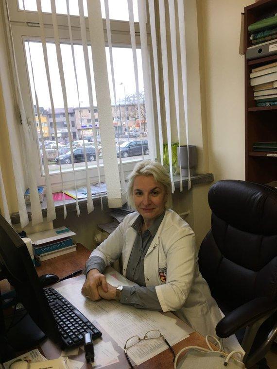 Asmeninio archyvo nuotr. /Šeimos gydytoja Olga Vasiliauskienė