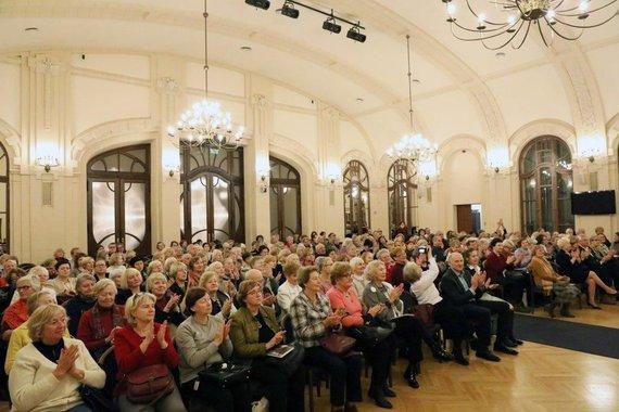 V.Valuckienės/LMA nuotr./Publika per A.Toliato knygos pristatymą