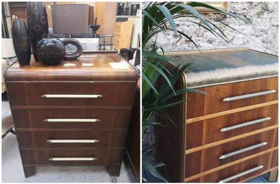 Asmeninio archyvo nuotr. /Miglės restauruotas baldas
