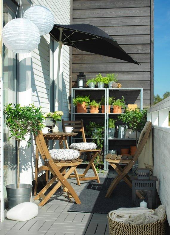 Pranešimo autorių nuotr./Daržas balkone