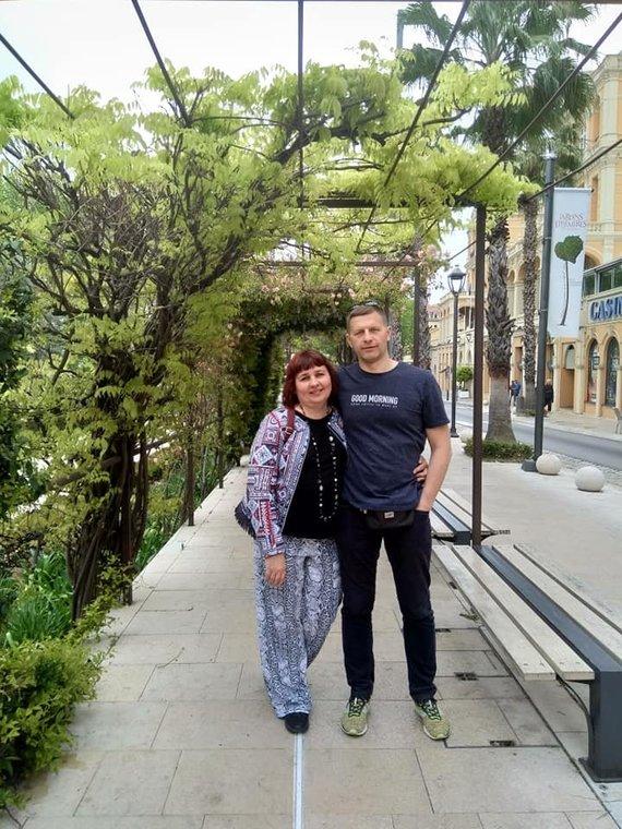 Asmeninio archyvo nuotr. /Aurima Dilienė su vyru