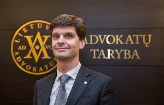 Asmeninio archyvo nuotr. /Lietuvos advokatūros pirmininkas prof. dr. Ignas Vėgėlė