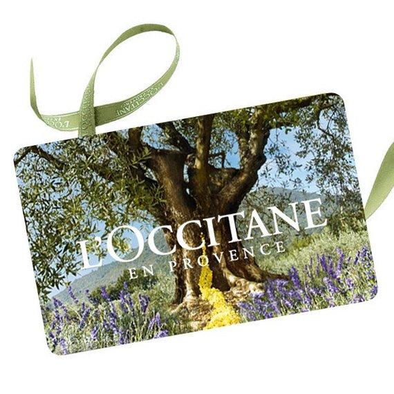 """""""L'Occitane"""" dovanų čekis."""