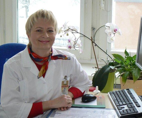 Gydytoja Daiva Makaravičienė.