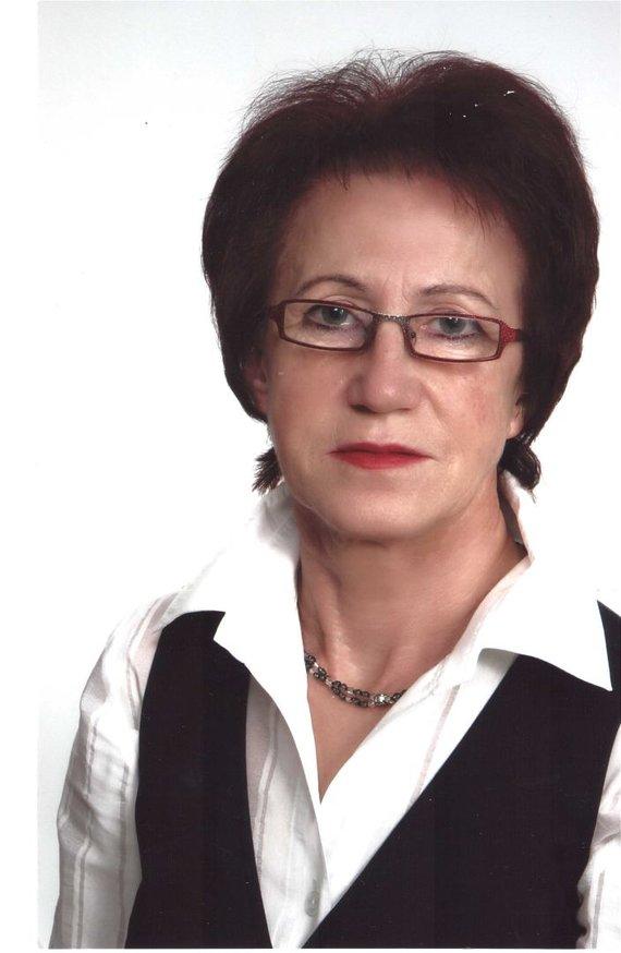 Asmeninio archyvo nuotr./Genovaitė Dovidaitienė