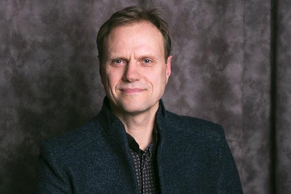 FOstudio nuotr./Gyvensenos medicinos asociacijos prezidentas Paulius Jaruševičius.