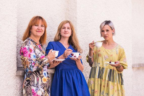 Ingridos Pociūtės nuotr./Iš kairės: Jurgita Vasiliauskienė, Skaistė Vasiliauskaitė-Dančenkovienė ir Ingrida Pociūtė
