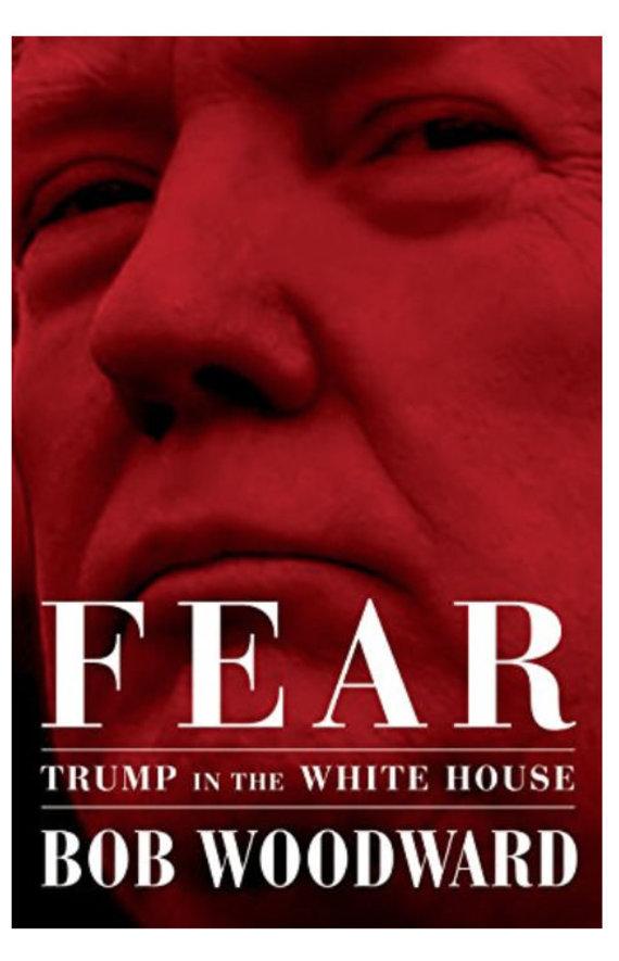 """""""Twitter"""" nuotr./Bobo Woodwardo knygos apie D.Trumpą Baltuosiuose rūmuose viršelis"""