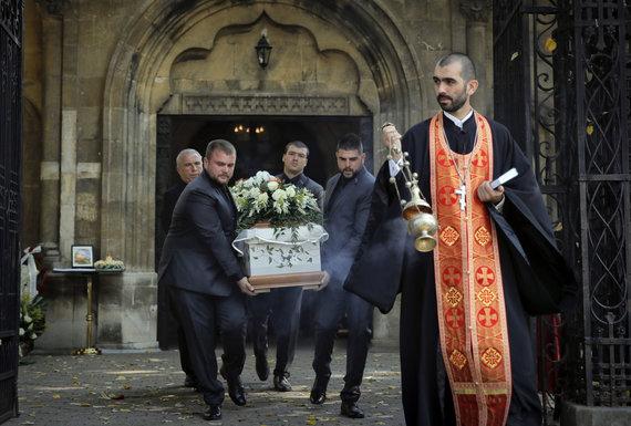 """""""Scanpix""""/AP nuotr./Viktorijos Marinovos laidotuvės"""