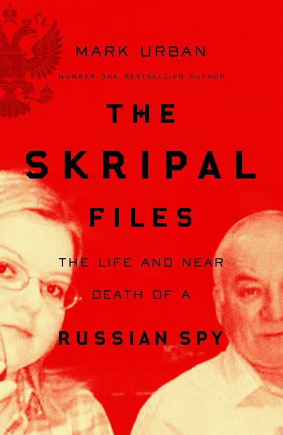 """Amazon nuotr./M.Urbano knyga """"The Skripal Files"""""""