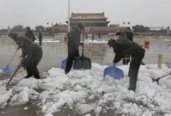 """Reuters""/""Scanpix"" nuotr./Pekinas žiemą"