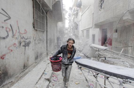 """Reuters""/""Scanpix"" nuotr./Alepo griuvėsiai"