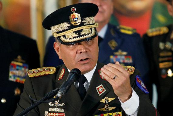 """""""Reuters""""/""""Scanpix"""" nuotr./Venesuelos gynybos ministras Vladimiras Padrino"""