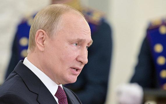 """""""Scanpix"""" nuotr./Vladimiro Putino narvas paauksuotas, bet, šiaip ar taip, narvas"""