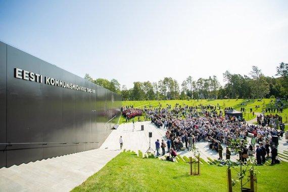 Estonian World nuotr./Komunizmo aukų memorialas Estijoje
