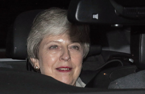 """Scanpix""/""PA Wire""/""Press Association Images"" nuotr./Theresa May"