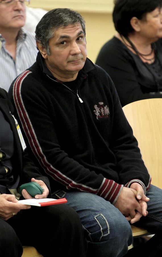 """AFP/""""Scanpix"""" nuotr./Zacharijus Kalašovas teisme Ispanijoje 2010 metais"""
