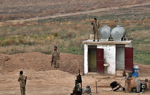 """""""Scanpix""""/AP nuotr./SDF kariai prie Sirijos ir Irako sienos"""