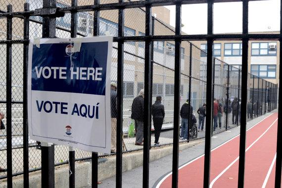 """""""Scanpix"""" nuotr./Amerikiečiai šiemet balsuoja kaip niekada aktyviai, bet dešimtys milijonų savo nuomonės ir vėl nepareikš"""